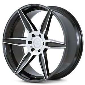 22 Ferrada Ft2 Machined Concave Wheels Rims Fits Dodge Ram 1500