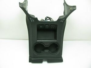 New Gm Center Console Cup Holder Plate Black For 15 17 Tahoe Suburban Yukon