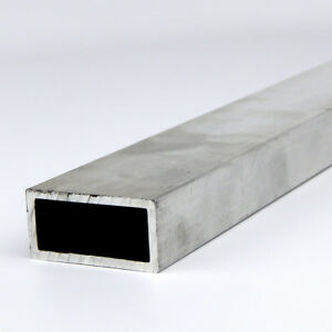 1 X 3 X 0 125 6061 T6 Aluminum Rectangle Tube 72 Length