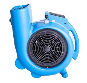 Carpet Dryer Air Mover Odor Stop 3 speed Powerful Blower Fresh Dry Cleaner