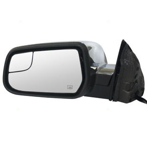 New Drivers Power Side Mirror Heat Blind Spot Glass Memory 10 14 Equinox Terrain