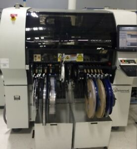 Universal Genesis Gi 07s 4992c with Ptf Pick Place Machine