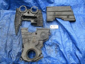 97 01 Acura Integra Type R B18c5 Upper And Lower Timing Cover Set Engine Motor