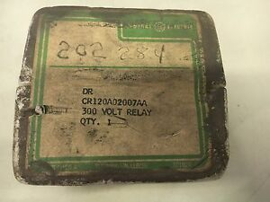 Ge Cr120a02007aa New In Factory Sealed Box 300v Relay See Pictures b22