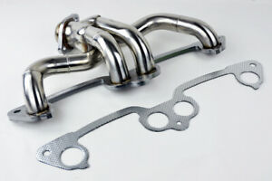 Stainless Manifold Header W Gasket Fits Jeep Wrangler 1991 2002 2 5l L4