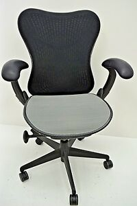 Herman Miller Mirra Task Chair Fully Adjustable Latitude Fabric Showroom Models