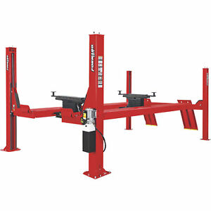 Forward Lift 4post Open Front Truck car Lift 182 5in 14 000lb cap cro14n101yrd