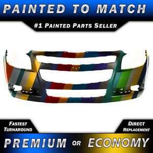 Painted To Match Front Bumper Fascia Exact Fit For 2008 2012 Chevy Malibu Sedan