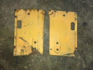 Case 530 Tractor Original Right Left Side Panels Body Panel Cover Side Shields