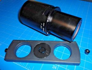 Nikon 0 3 A Condenser For Tms Inverted Phase Contrast Microscope W 1 Filter