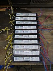 Lot Of 10 Advance Iop 4p32 lw sc 4 Lamp Ballasts For F32t8 Lamps 120 277 Volts