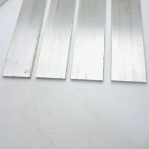 625 X 5 Aluminum 6061 Flat Bar 7 625 Long New Mill Stock Qty 4 Sku L610