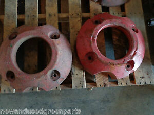 Farmall Ih International Back Weight A B Bn Super A 6701da Pair