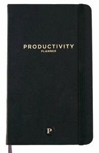 Productivity Planner Daily Planner Non Dated 5 X 8 Accomplish Your 201