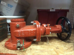 Wilkins 2014 Osy 4 200 Psi Gate Valve Grooved X Flanged 4 48osygxf