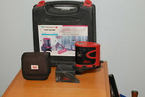 Leica Lino P5 Point Laser Level Tested And Working
