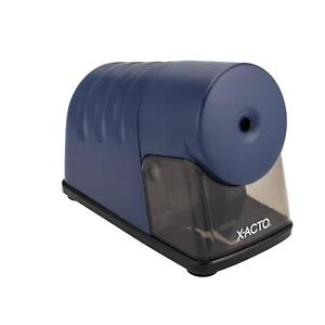 X acto Powerhouse Electric Pencil Sharpener Navy Blue