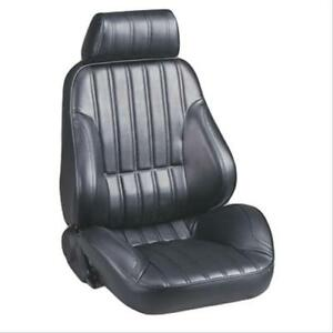 Scat 80 1000 51r Seat Rally 1000 Bolstered Reclining Right Side Vinyl Black Each