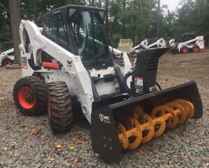 2008 Bobcat A300 With Brand New 78 Ffc Snow Blower 2339