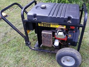 Generac Mega Force 6500 Portable Generator Local Pick Up Only