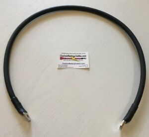 36 1 0 Sgx Custom Battery Cable W 2 3 8 Hd Lug Ends