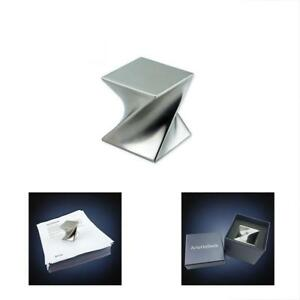 Modern Paperweights Art St206 Stainless Steel Satin Finish Luxury Desktop Home