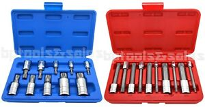 20pc Spline Xzn Triple Square 12 Point Socket Bit Set 1 4 3 8 1 2 Tamperproof