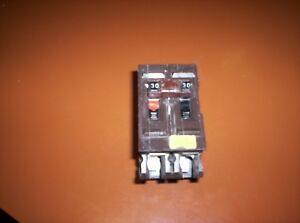 Wadsworth 30 Amp Breaker Tested 2 Pole 240 Volt