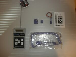 New Omega Type E Thermocouple Thermometer Model 450aet With Probe Retail 199 95
