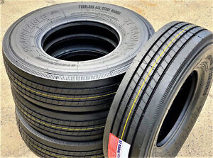 4 New St235 85r16 G 14 Ply Transeagle Asc All Steel Radial Trailer Tires