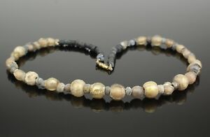 Beautiful Ancient Roman Glass Bead Necklace 2nd Ad 98