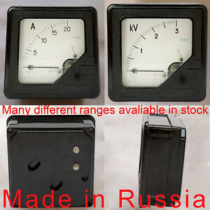 1 5 Accuracy 160 160mm M367 Dc Ammeter Voltmeter Analog Panel Meter Any Range