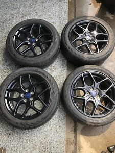2016 Ford Focus Rims And Tires 215 50 17 Oem Only 1000 Miles