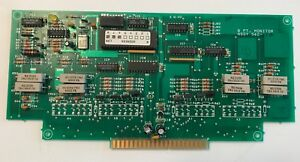 Simplex 562 731b Fire Alarm 8 Point Monitor Assembly Board free Shipping