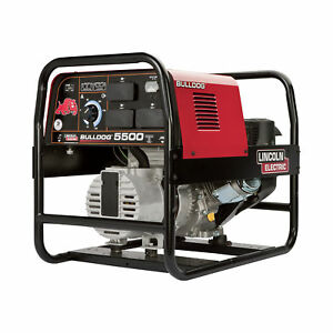 Lincoln Bulldog 5500 Portable Ac Welder generator 140 Amps 5500 Watts K2708 2