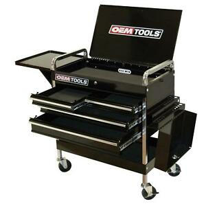 Specialty Tools Deluxe 4 Drawer Service Cart