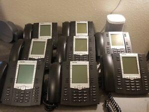 Aastra Business Phones variety Lot Of 13 With Power Supply Cords