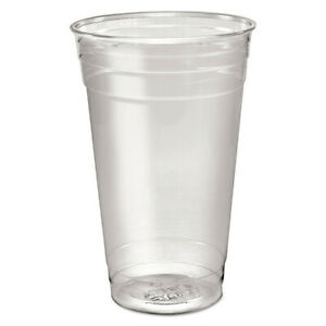 Dart Ultra Clear Pete Cold Cups 24 Oz clear 50 sleeve 12 Sleeves ctn Td24 New