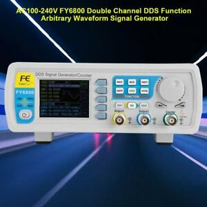 Fy6800 Digital Dds Signal Generator Arbitrary Waveform Pulse Frequency Counter