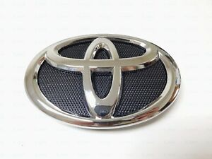 2010 2011 160mm Black Chrome Front Grill Emblem Bumper Fit For Toyota Camry