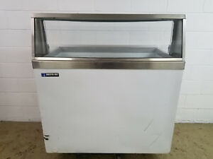 Master built Ice Cream Dip Freezer Cabinet No Tag Tested 115v