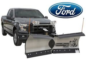Ford F150 F250 Trip Edge V Plow Snowdogg Vmd75 Gen 1 Versitale Reliable Strong