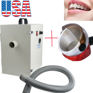 Us Dental Lab Equipment Dust Collector Vacuum Cleaner Collecting suction Base Ce