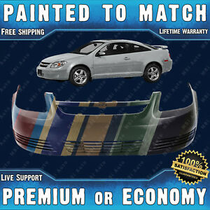 New Painted To Match Front Bumper Exact Fit For 2005 2010 Chevrolet Chevy Cobalt