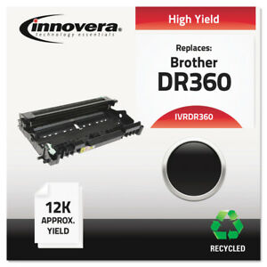 Innovera Dr360 Remanufactured Black Drum Unit With 12 000 Page yield New