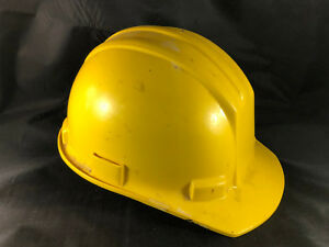 Bullard Model 5100 Hardhat Hard Boileed Yellow Construction Saftey Hat Ms26