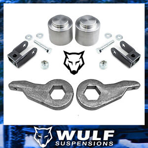 3 Front 3 Rear Lift Kit 2000 2006 Chevy Gmc Tahoe Yukon Suburban 1500 4wd 4x4