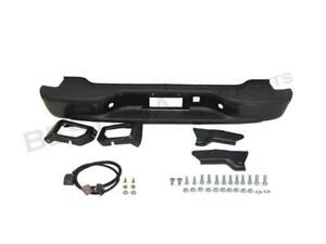 Chevy Suburban 00 06 Rear New Step Bumper Black Steel W bracket Stepside