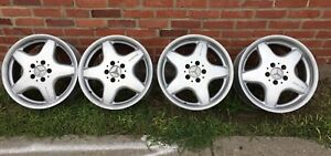 Mercedes Clk Amg 17 Staggered Monoblock Wheels W201 W124 W202 W210 R129 W208