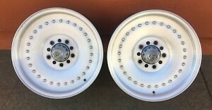 Vintage Centerline Center Line Aluminum Auto Drag 15x5 1 2 Wheels Hot Rod Nhra